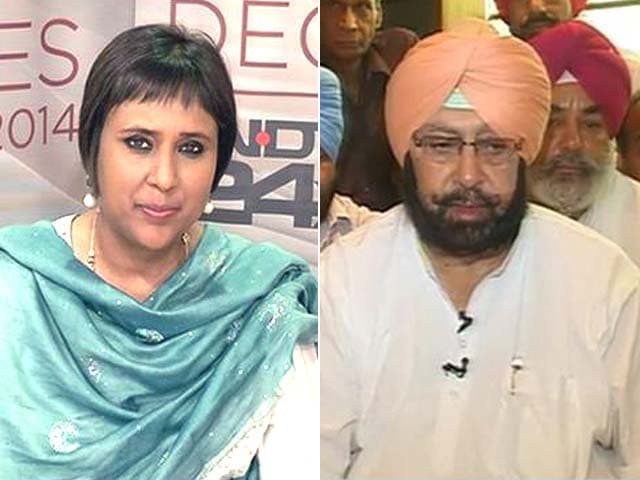 Video : Sonia Gandhi Should Continue to Lead Congress for Some Time, Says Amarinder Singh