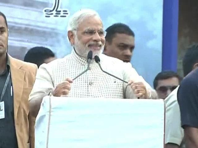 Video : At First Victory Rally, Narendra Modi Says Good Days Are Upon Us