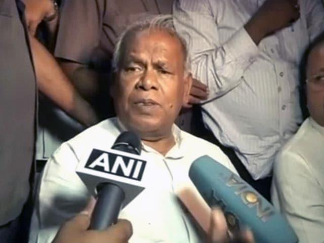 Video : Nitish Kumar's Pick Jitan Ram Majhi to be Bihar's New Chief Minister