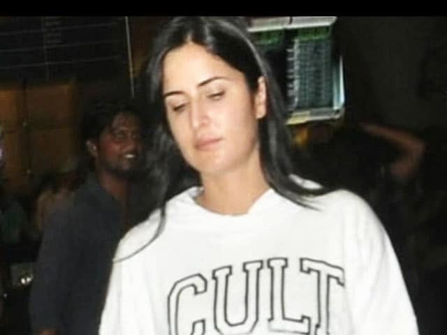 Video : Katrina Puts on Some Weight