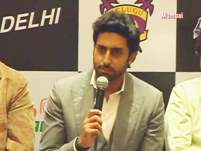 Video : Wanted to Help Kabaddi Grow as a Sport: Abhishek Bachchan