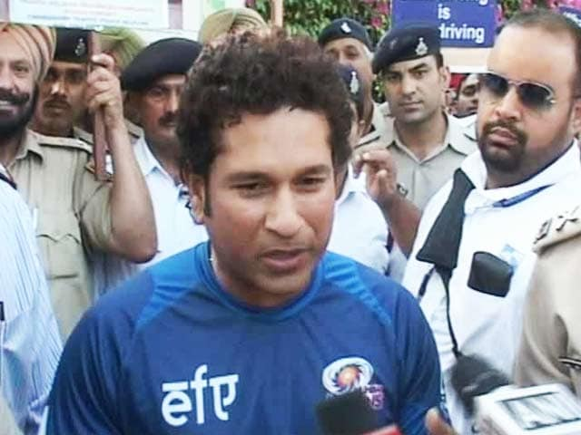 Video : Road Safety: Sachin Tendulkar Takes up New Role