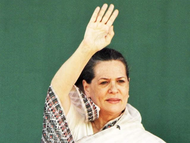 Video : Congress MPs Elect Sonia Gandhi as Party Chairperson