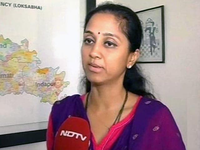 Video : Our Disconnect With Masses Led to Defeat: NCP's Supriya Sule to NDTV