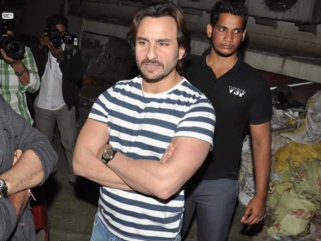 Saif Ali Khan Signs Varun Dhawan