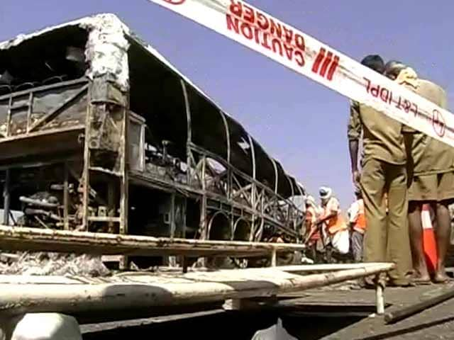 Video : Mahbubnagar Accident: Chargesheet Blames Faulty Bus Design, Volvo Denies It
