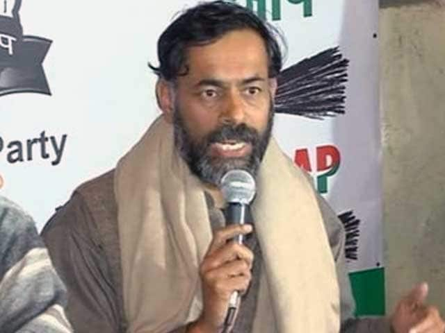 Video : AAP's Yogendra Yadav Offers to Resign From Key Post