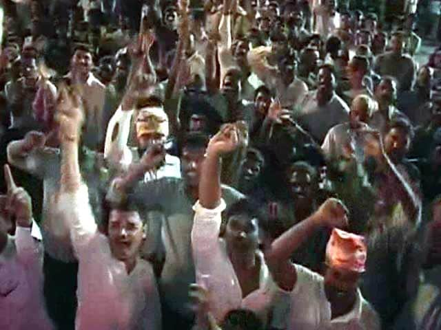 Video : Midnight Party to Celebrate Birth of Telangana
