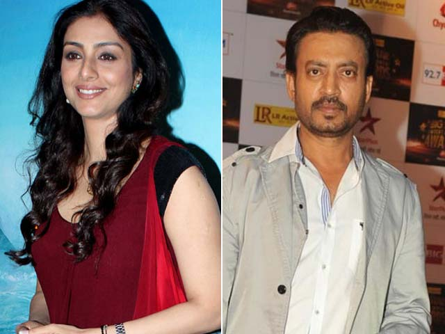Tabu to Work With Irrfan Khan