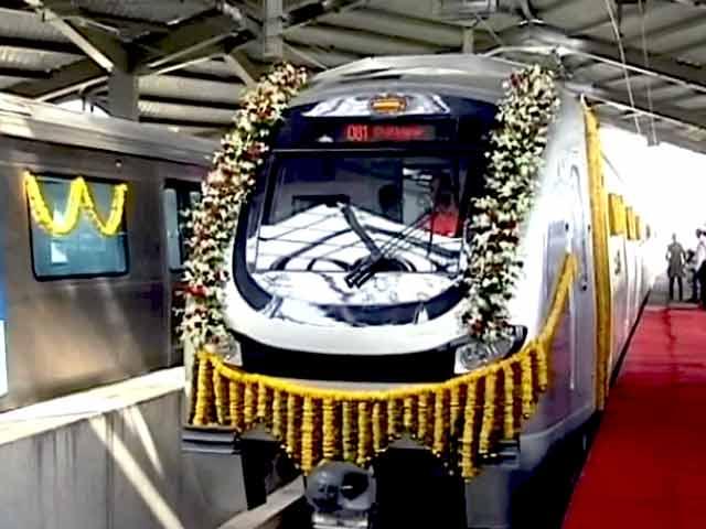 Video : मुंबई मेट्रो शुरू होने से पहले ही विवाद