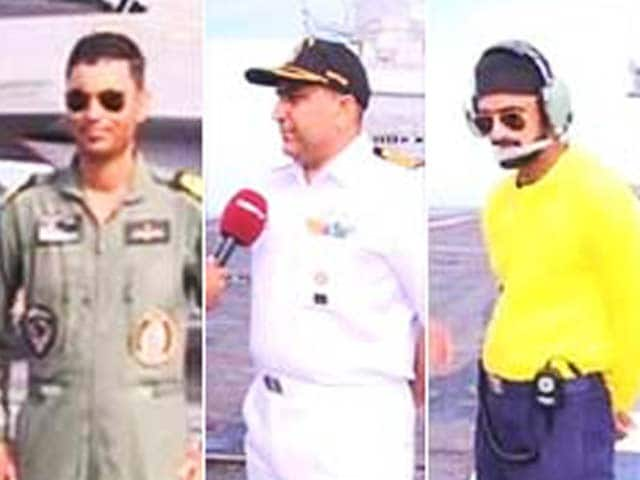 Video : Watch: India's Most Potent Ship - The Men Who Lead INS Vikramaditya
