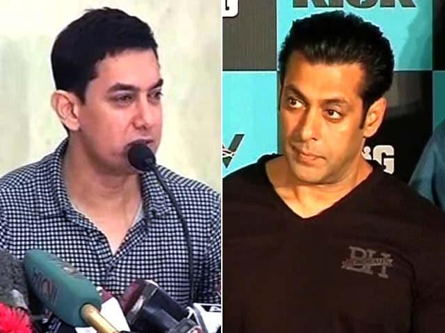 Video : Salman, Aamir Won't Comment on Preity vs Ness