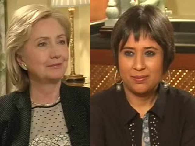 Video : Watch: Iraq PM should change for US to intervene - Hillary Clinton to NDTV