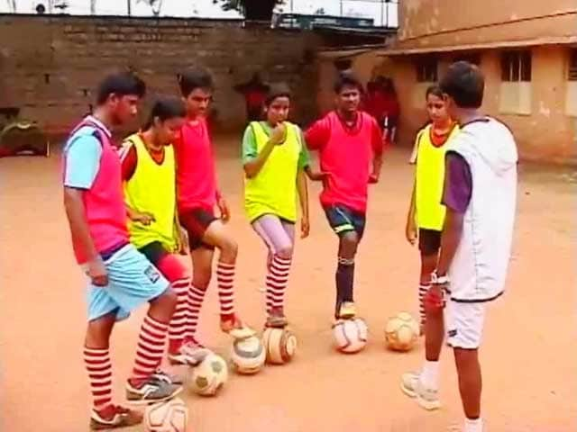 Video : Bangalore Kids to Represent India in Football for Hope Festival in Brazil