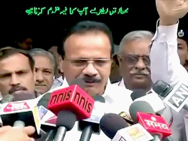 Video : बिहार ट्रेन हादसे पर रेलमंत्री का बयान