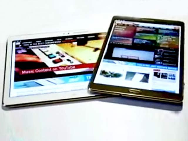 Video : The First Super AMOLED Tablets