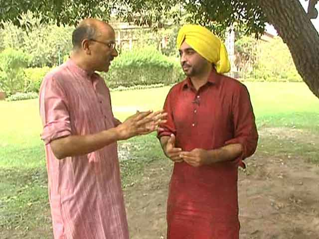 Video : Walk The Talk with Bhagwant Mann