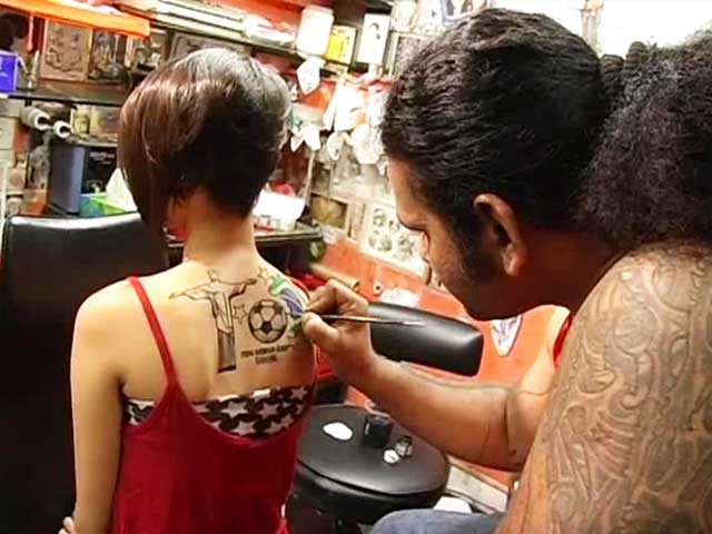 Video : FIFA World Cup: Football Tattoos, the New Rage!