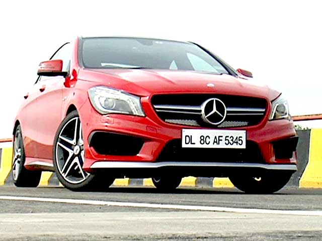 Video : Scorching Hot CLA 45 AMG: First Look