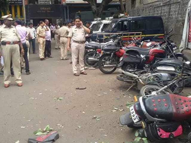 Video : Low-Intensity Blast in Pune, Police Say Terror Attack Not Ruled Out