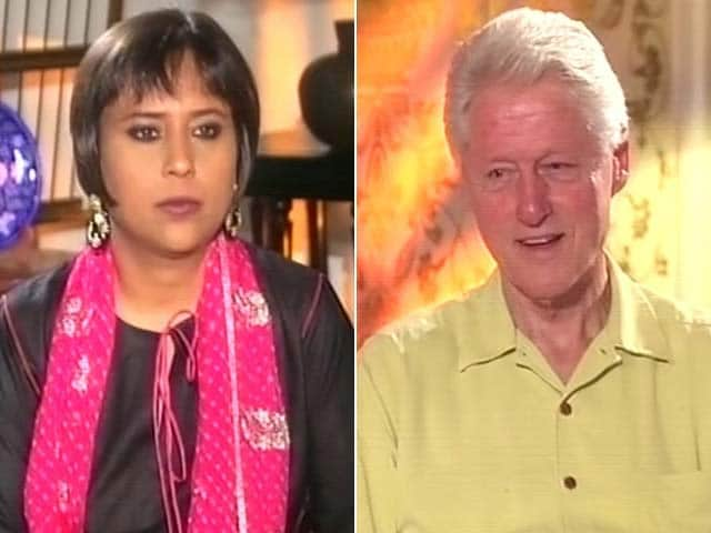 Video : Watch: Impressed with Narendra Modi's Economic Policies - Bill Clinton to NDTV