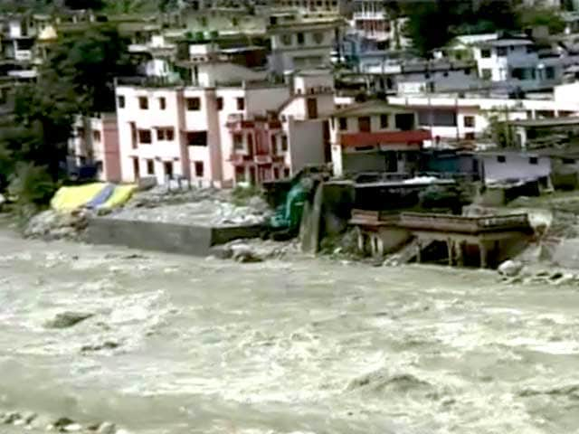 Video : Rain Fury Continues in Uttarakhand, Rivers Flowing Near Danger Mark
