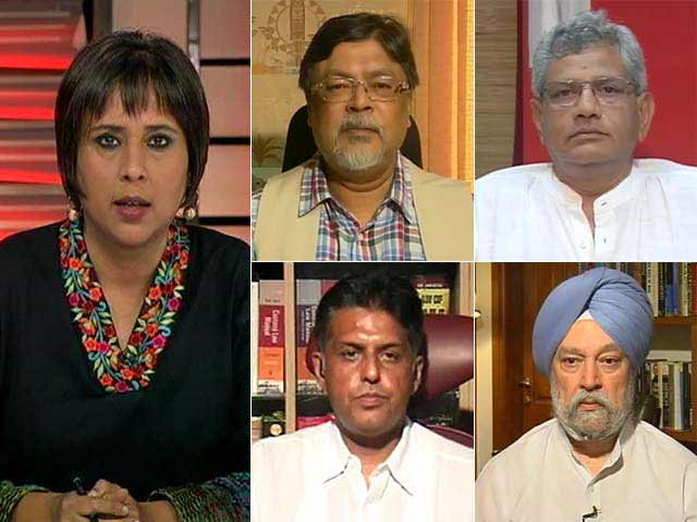 Video : Watch: Delhi in Gaza Fix - Is It Any of India's Business?