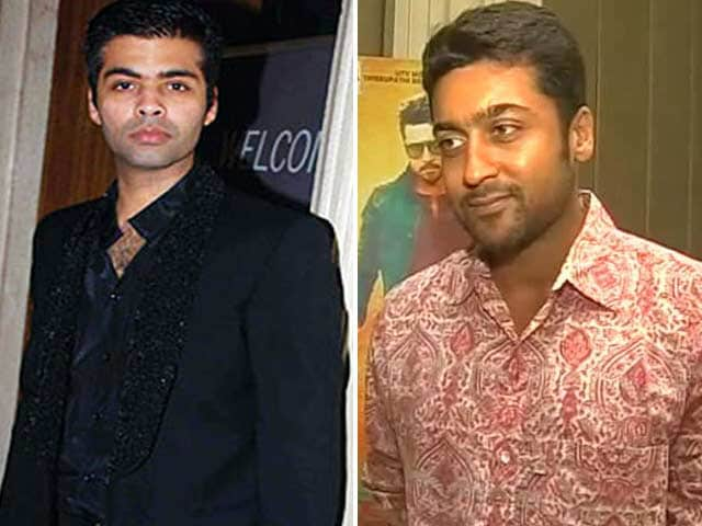 Video : Original Singham Becomes Anjaan and Karan Johar's New Clique
