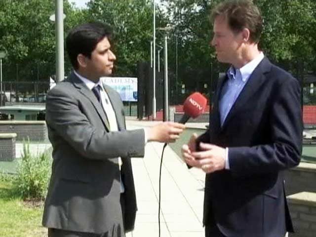 Video : Any Visit by Narendra Modi Will be Very Special: Britain's Deputy PM Nick Clegg to NDTV