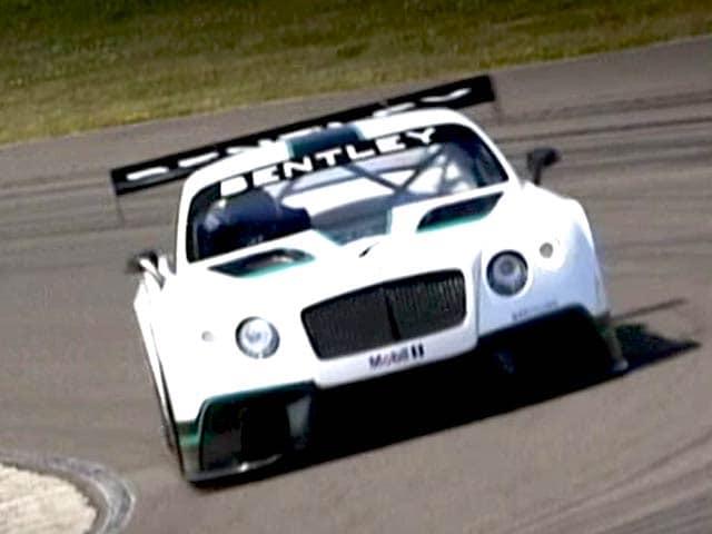 Video : Bentley Racer in Focus & Inside Dirt Track Racing
