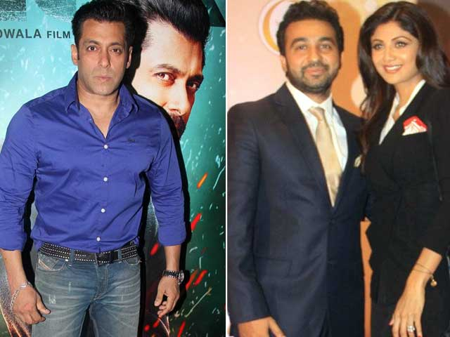 Raj Kundra Kicks Up a Storm About Salman