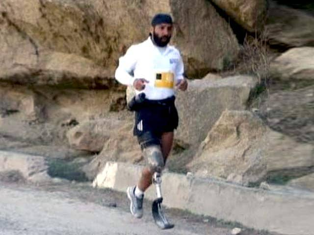 Video : Watch: War Hero's 'Marathon' Battle for Dignity