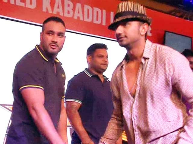 Yo Yo Honey Singh's Kabaddi Team in World Kabbadi League