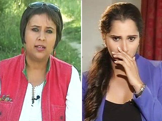 Video : Watch: Unfair That I Have to Assert My Indian-ness - Sania to NDTV