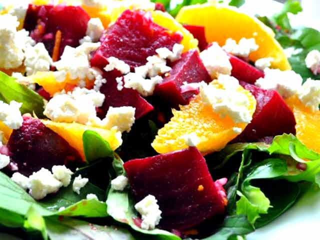 Beet, Feta and Orange Salad - NDTV Food Videos