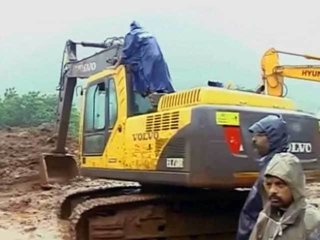 Video : 17 Killed, Nearly 200 Feared Trapped After Landslide Near Pune