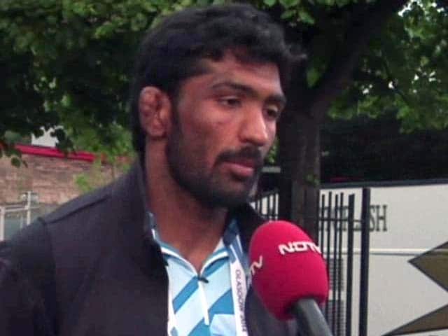 Video : Delighted to Win CWG Gold, Focus Now on Asian Games: Yogeshwar Dutt to NDTV