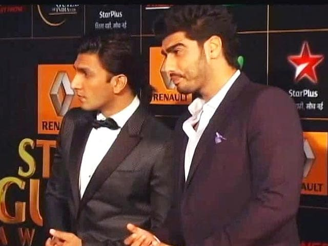 Video : Ranveer Singh, Arjun Kapoor's Great Camaraderie