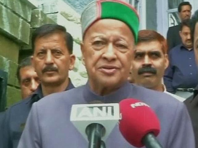 Video : Case Can Be Made Out Against Virbhadra Singh, Centre tells Court