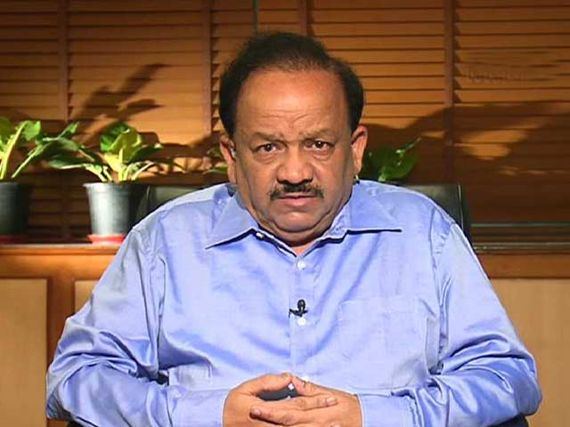 Video : Watch: I Don't See Any Serious Threat to India - Harsh Vardhan on Ebola Outbreak