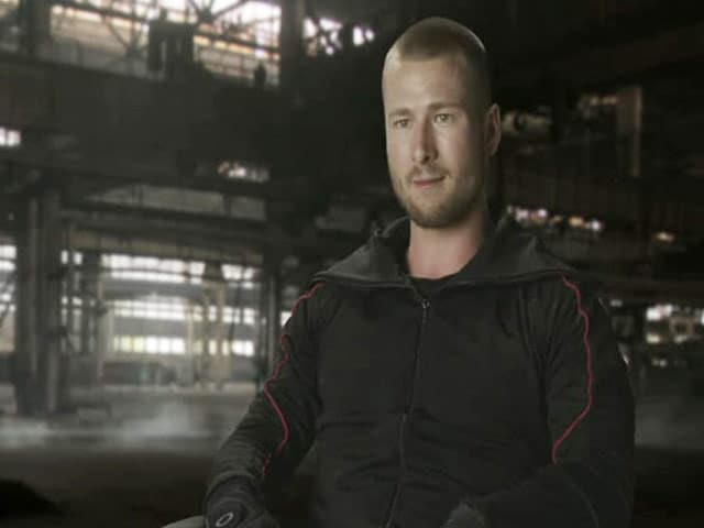 The Expendables Mix of Brawn and Brains: Glen Powell