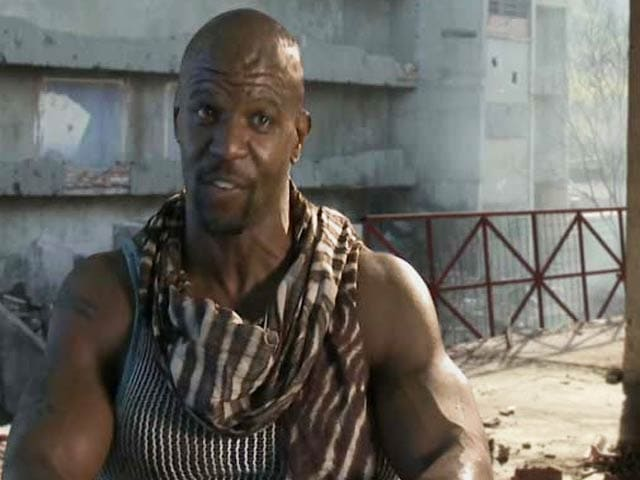 Am Proud to be Part of The Expendables Series: Terry Crews