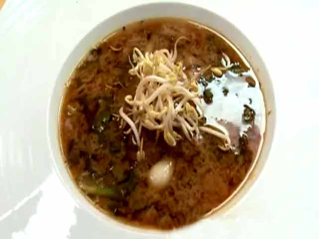Video : Radish Soup with Tofu Miso Cream