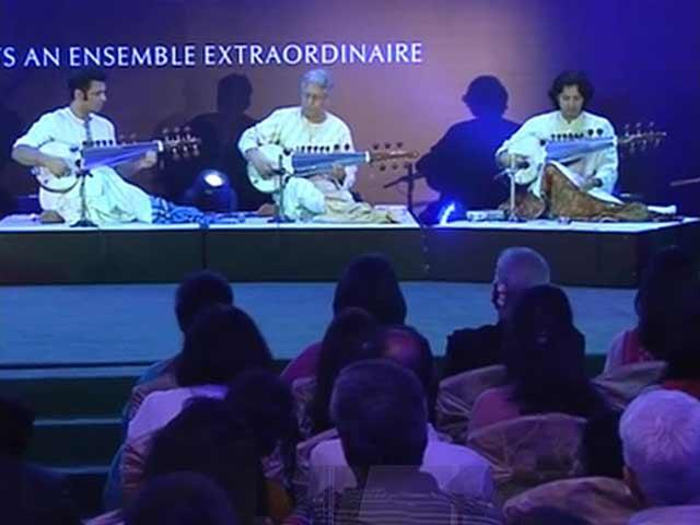Ustad Amjad Ali Khan's Tribute to Mahatma Gandhi