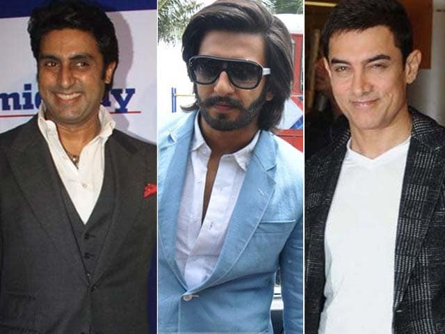 Video : Ranveer, Aamir, Abhishek Compete in Commercials