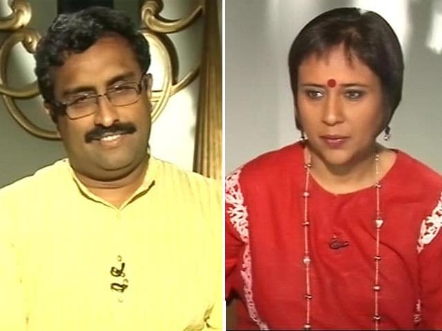 Video : Watch: Views on Hindutva Not Forced on Anyone - Ram Madhav to NDTV