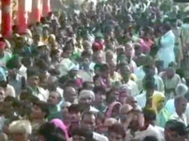 Video : 10 Killed in Temple Stampede in Madhya Pradesh