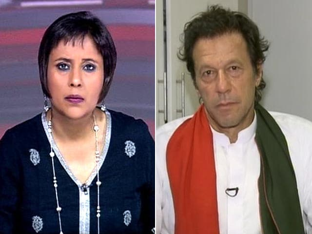 Video : Watch: Nawaz Sharif Has No Moral Authority to be PM - Imran Khan to NDTV