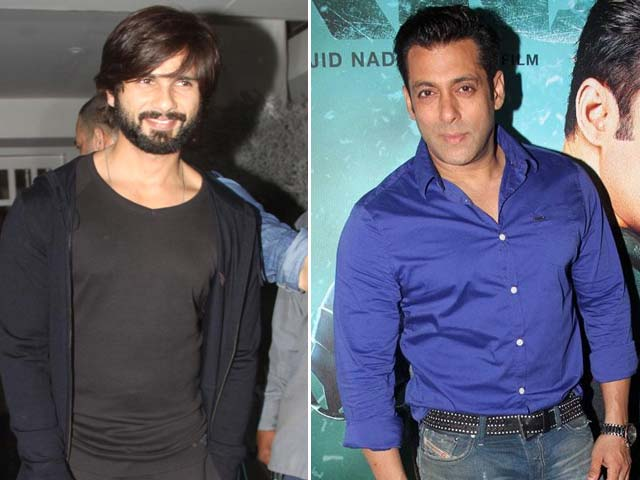 Salman Khan, Married to the Exes, Shahid Kapoor Avoids Exes