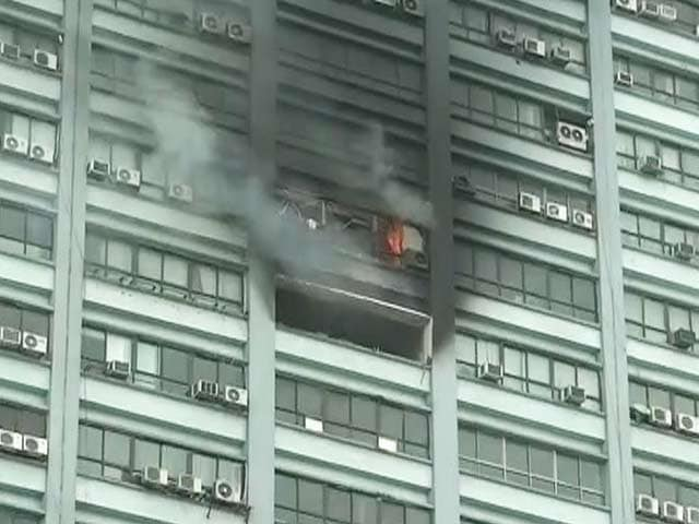 Video : Fire Breaks Out at Iconic Chatterjee International High-Rise in Kolkata